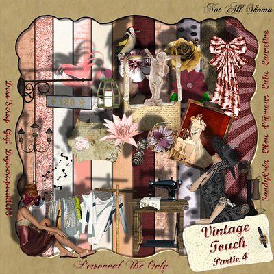 "Freebies Kit ""Vintage Touch"" partie 4"