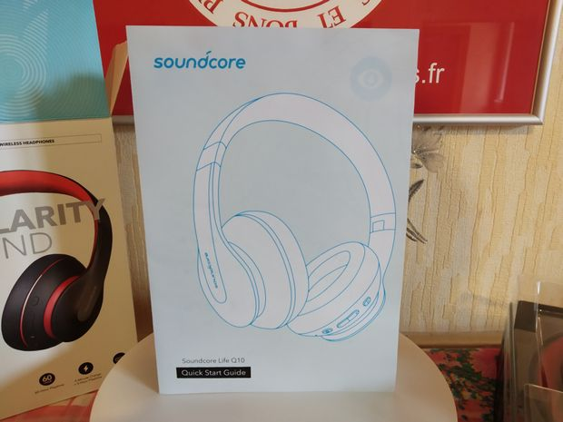 Unboxing du casque Bluetooth 5.0 certifié Hi-Res Audio - SoundCore Life Q10 @ Tests et Bons Plans