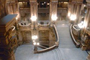Sous les ors de l'Opéra Garnier