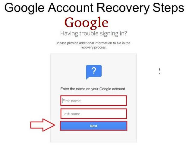 How to recover my Gmail account