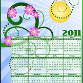 Don't Eat the Paste: 2011 Bright Calendar- year at a glance