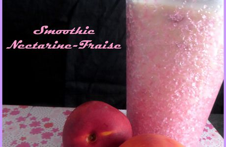 Smoothie Nectarine-Fraise