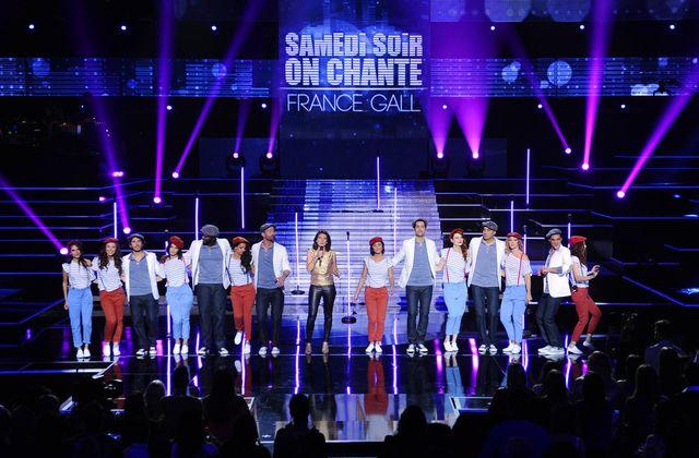 """Samedi soir on chante France Gall : vidéo du début de l'émission, """"Musique""""."""