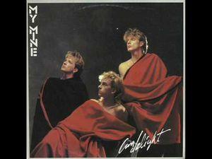 """my mine, un groupe italo-disco de synthpop italien, originaire de Bologne et actif entre 1983 et 1986 avec le hit """"hypnotic tango"""""""