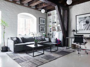 Un appartement mixant classique et contemporain