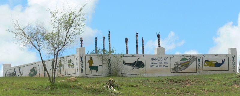 Randonnée le long de la Nationale 7 entre Tananarive et Tulear