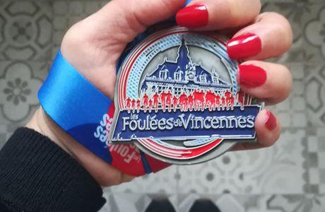 Les Foulées de Vincennes 2019 : 10 km sous le soleil