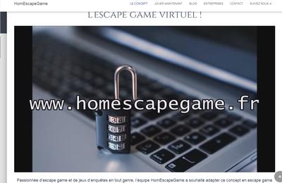 [test] HomEscapeGame : L'Agence, l'escape game en ligne totalement autonome !