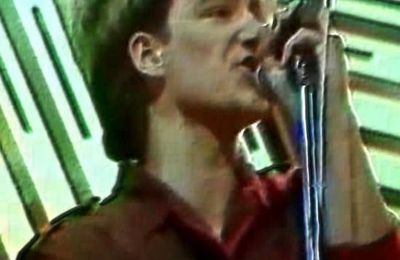 "U2 -UK TV - ""Get Set For Summer"" - Unknown, England 01-05-1982"