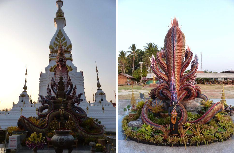 Wat Song Pracharam à Sakon Nakhon