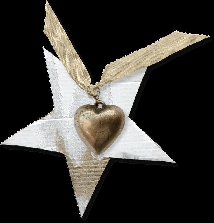 "Kit de scrapbooking "" Pure Heart "" (Tags)"