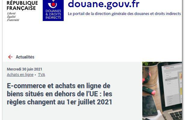 E-commerce : les règles ont changé le 1er juillet 2021 en Europe