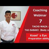 【#JUDOs】Coaching Webinar 7[TACHI-WAZA:TAI-SABAKI(Body control)] ~Kosei's Eye <Preparation ability>~
