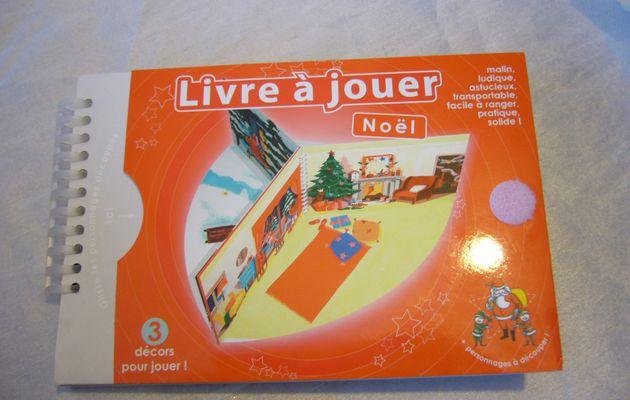 "Mademoiselle Cartonne Livres à jouer "" Noël """