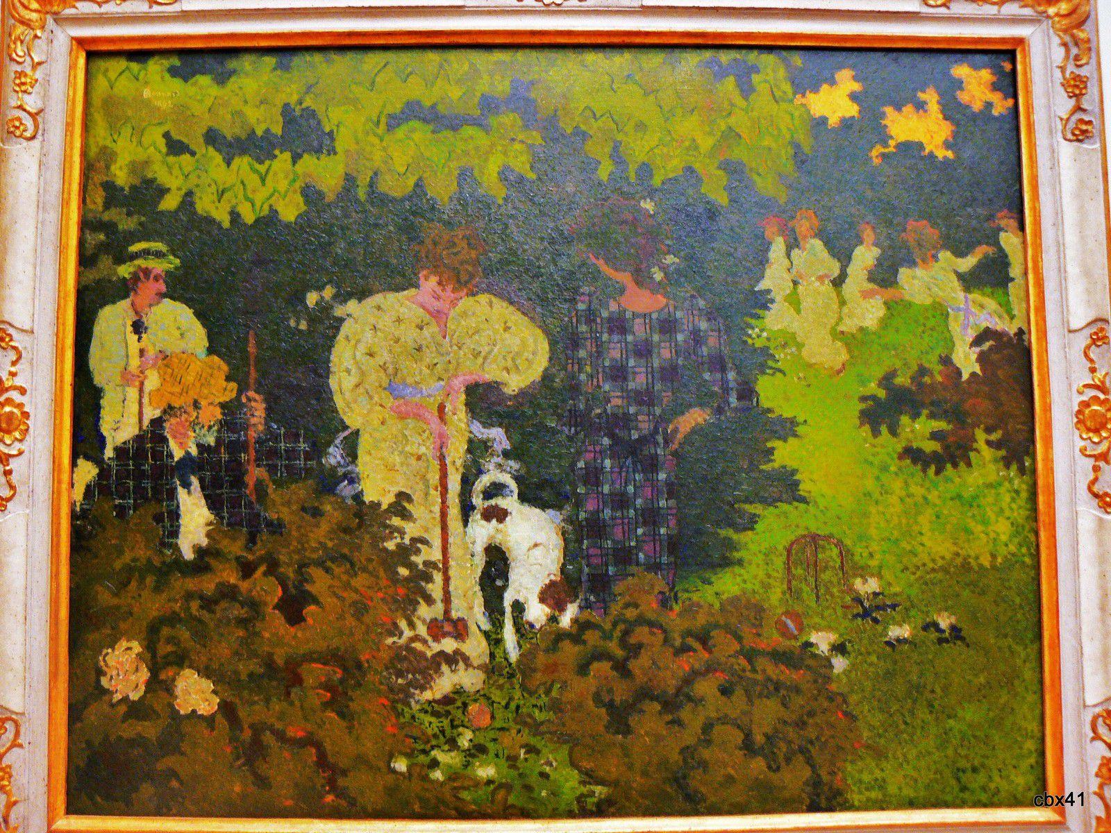 Pierre Bonnard, La partie de croquet