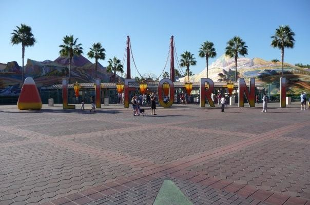 USA 2008 - part 3 – « Disney's California Adventure, in the morning »