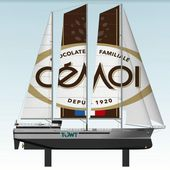 4 sailing cargo ships, to transport cocoa from the French chocolate maker Cémoi - Yachting Art Magazine