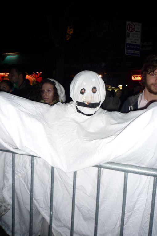 Halloween : la parade à greenwich village, les décos chics ou kitshs...