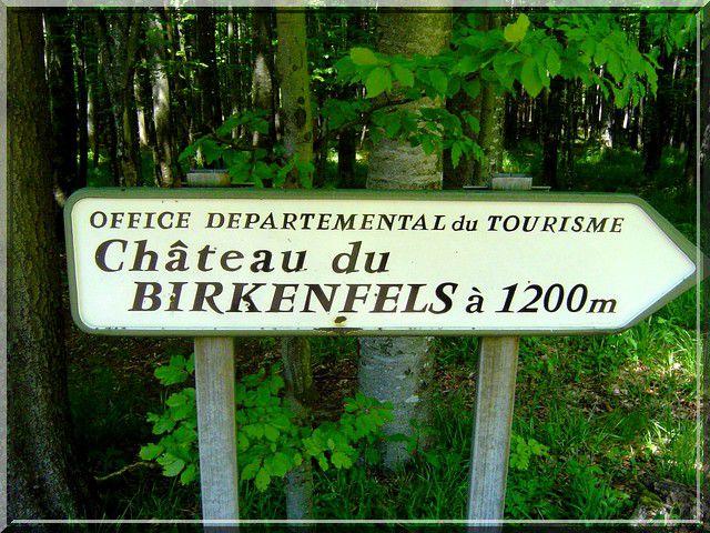 Diaporama château Birkenfels - Ottrott