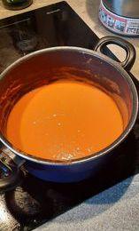 J'ai refait une sauce tomate de ma grand-mère :