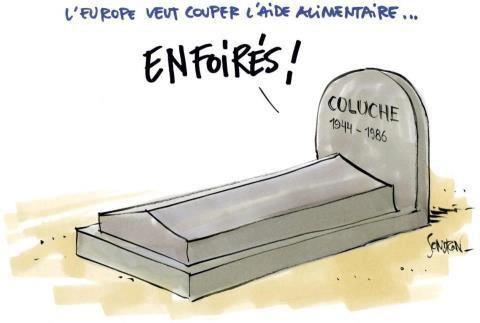 Merci Coluche.... tu nous manque !
