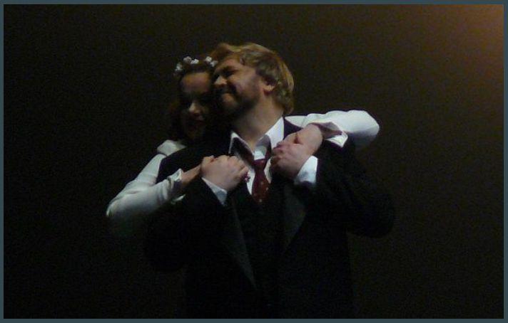 Petra Lang (Brünnhilde) et Torsten Kerl (Siegfried)