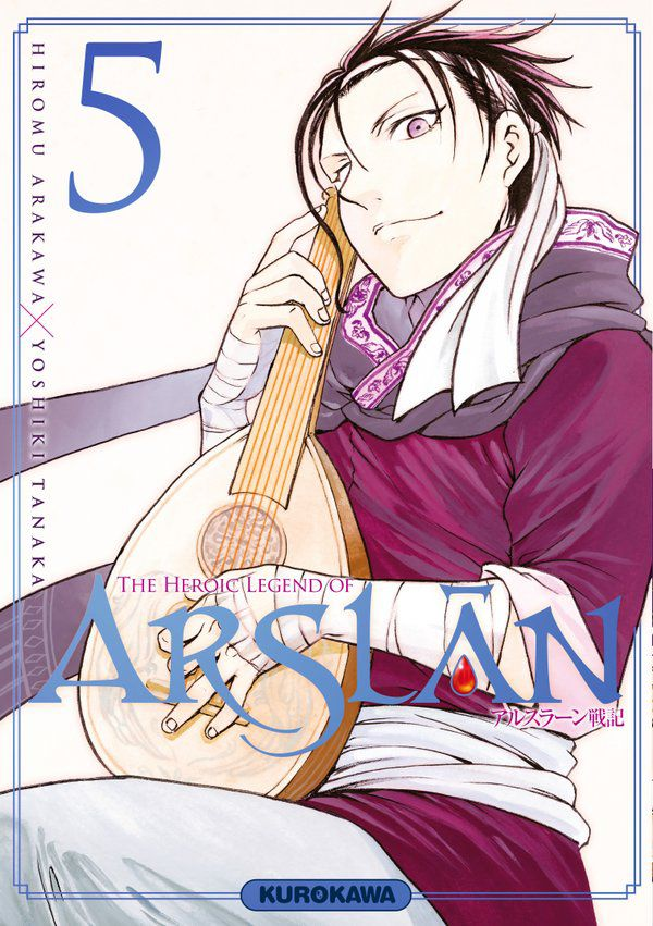 The heroic legend of Arslan Tome 5