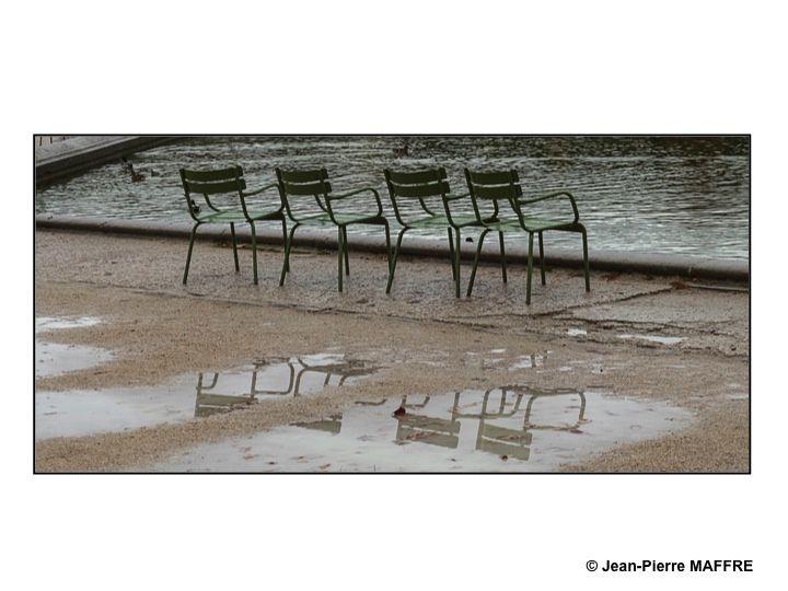 Ce lieu si poétique change de nature sous la pluie et la douceur de la lumière d'automne.