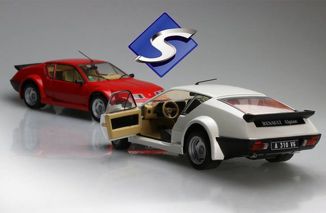 1/18 : Solido sort l'Alpine A310 pack GT