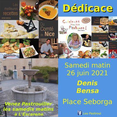 Samedi 26 juin 2021 matin à l'Escarène pour un moment d'échange avec Lou Pastroui