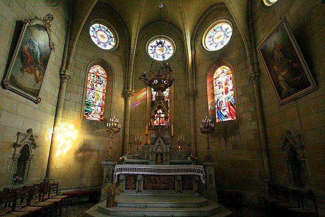 Diaporama église fortifiée d'Aubenton