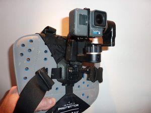 Protection de sternum Camelback pour caméra embarquée Gopro 3/4/5/7, the Sternum Protector Camelback sport's camera.