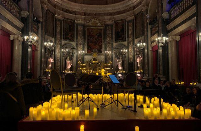 Concert de musique classique à la bougie, Candlelight Lyon