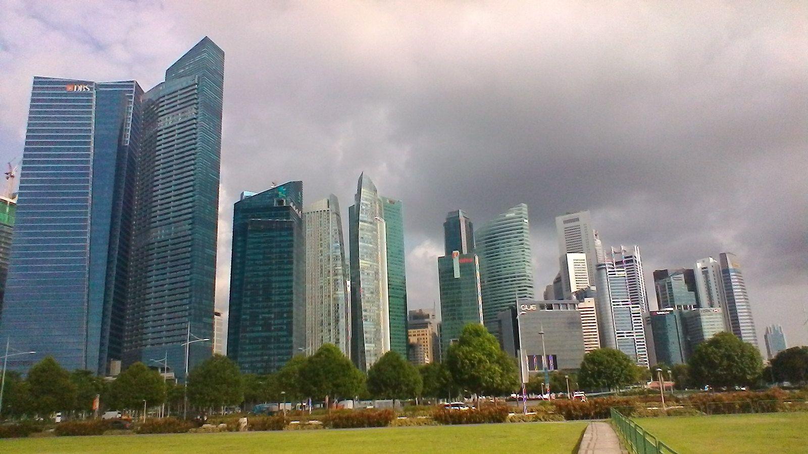 Escale à Singapour ( vol wallis-nadi puis nadi - singapour )