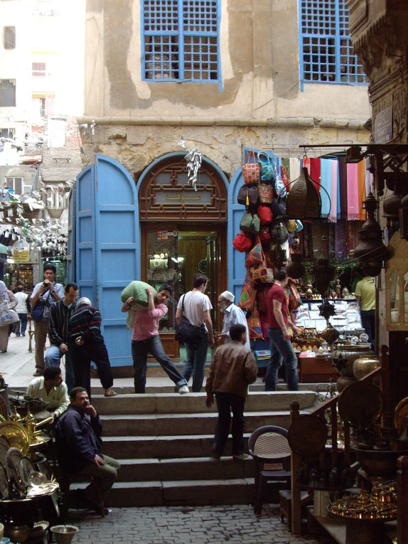 Quatrième voyage en Egypte, croisière traditionnelle et pour la première fois Le Caire