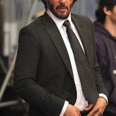 Battered Keanu Reeves has bloody scrapes on face