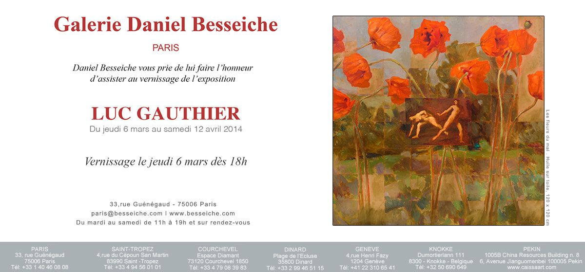 Exposition Luc Gauthier