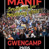 Manif pour la langue bretonne à Guingamp - Bretagne Info