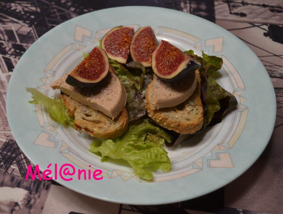 foie gras sur pain de campagne