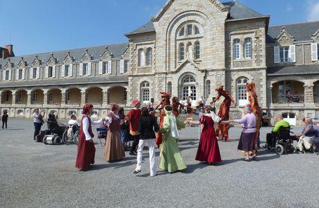 Médiévale de Guérande - Anne de Bretagne à Pen Bron, vendredi 31 mai 2013