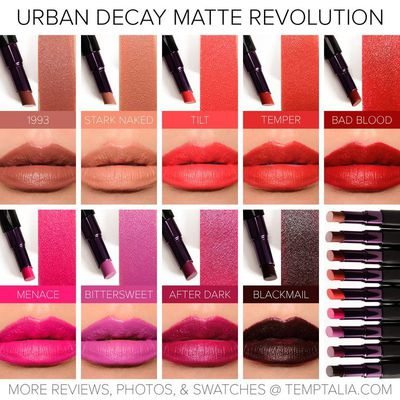 Mat Revolution Lipstick de Urban Decay