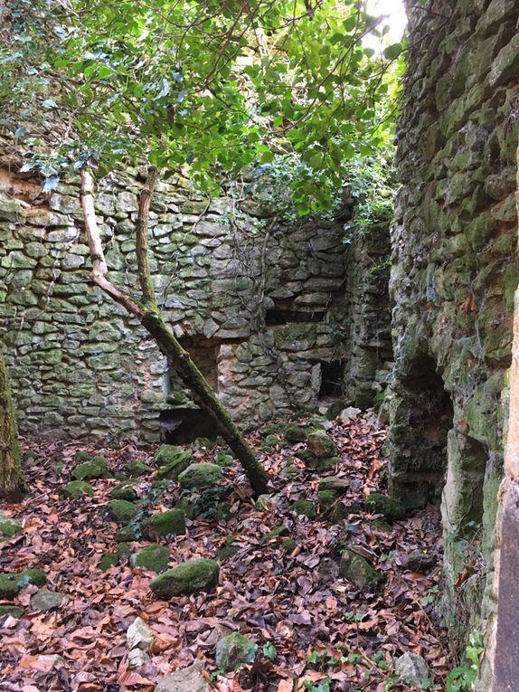 Autour de Lyas et des grottes de la Jaubernie