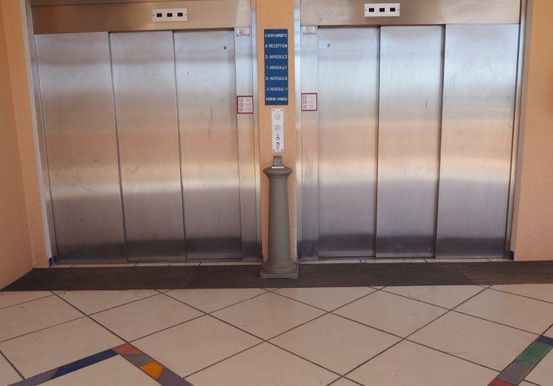 Flash explicatif sur les ascenseurs du parking du Hameau.