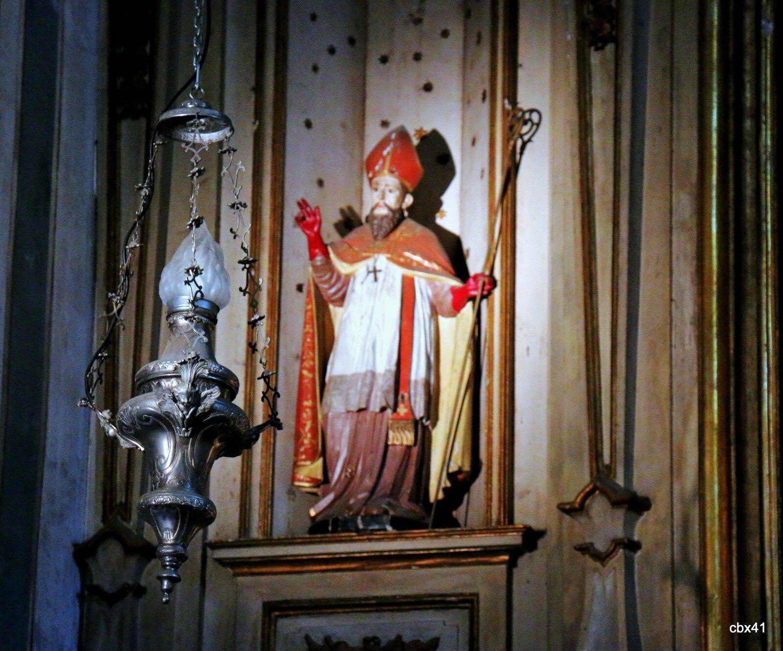 Une chapelle de l'église Saint-Martin (Sintra, Portugal)