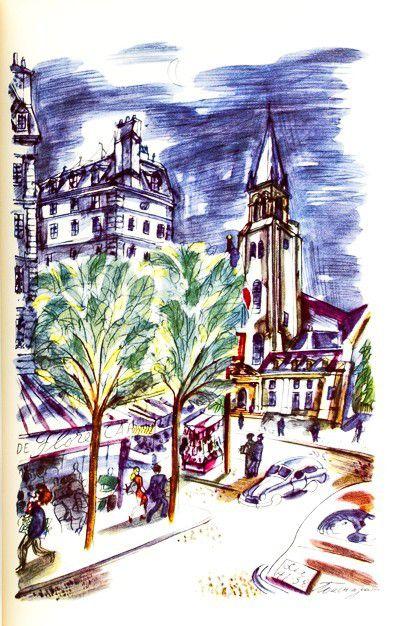 GUESDON [PARIS-TOUCHAGUES]. Amour. Chef-lieu Paris. Préface d'Edouard Herriot.