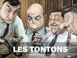 Les tontons – Eparpillés façon puzzle de Chanoinat et Da Costa chez Glénat.