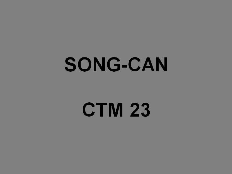 SONG - CAN CTM 23 ,  Chaland de Transport de  Marériel