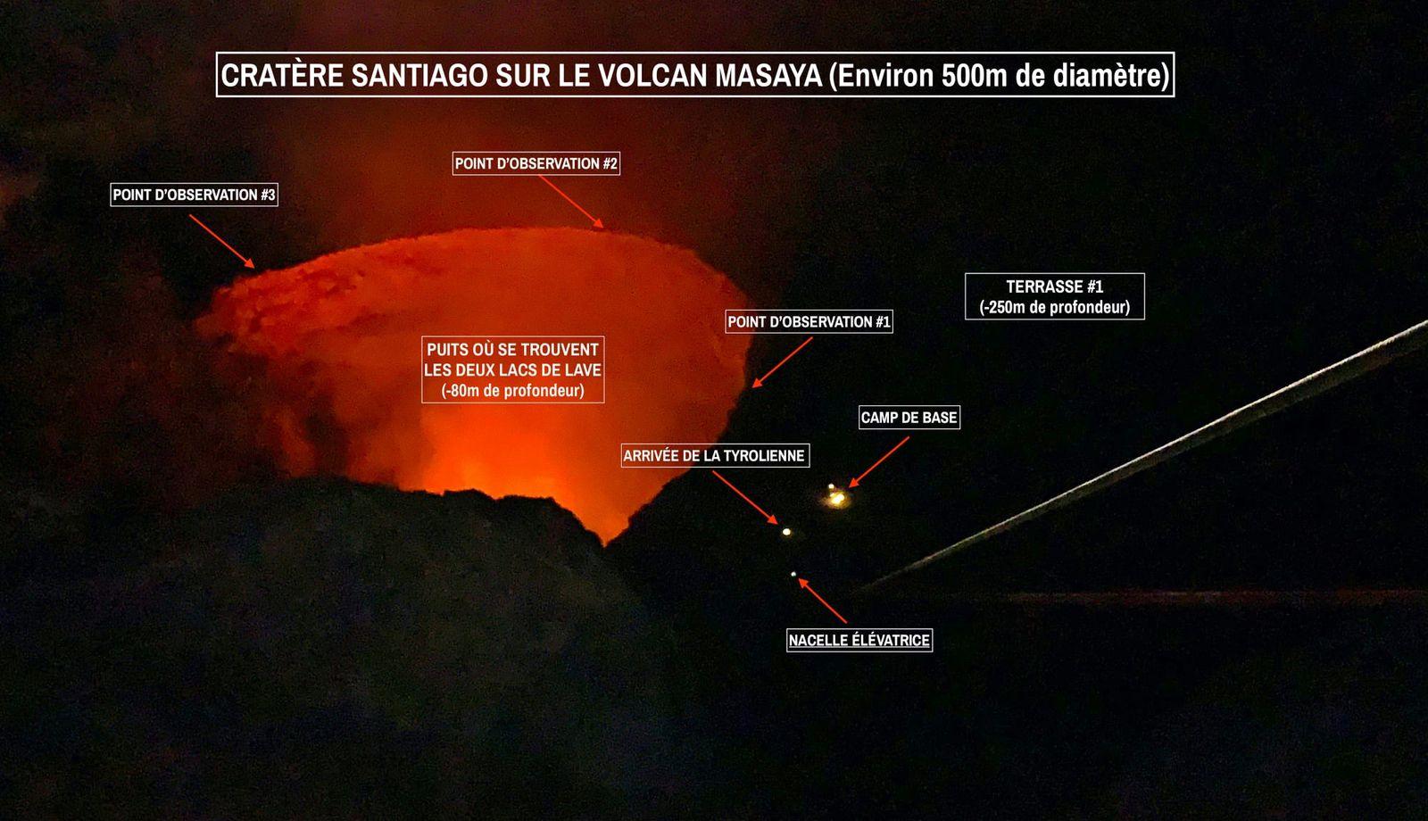 Masaya, Santiaguo crater - photo and captions Tanguy de St Cyr. 05/10/2021 / 1:07 am