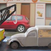 CITROEN 2CV COMMERCIALE 1954 TEINTURE IDEALE LES MINIATURES DE NOREV 1/43 - car-collector.net