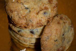 Cookies aux éclats de Nougatine